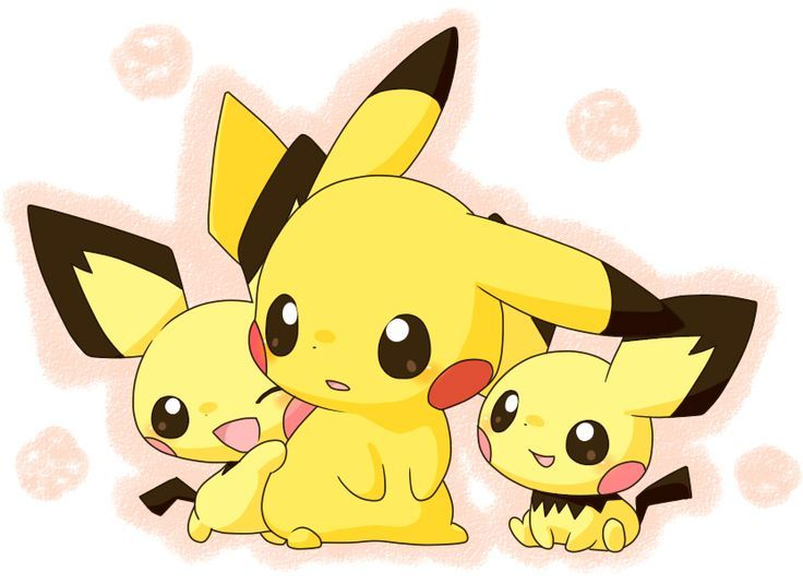 Cute Wallpapers With 0424 On It Pichu Pikachu Pixiv Id 861250 Cute ♡ Pichu Pokemon