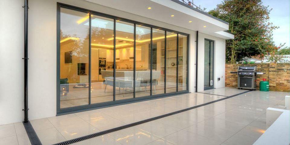 Ultraslim Retractable Sliding Pivot Doors Sunseeker Doors