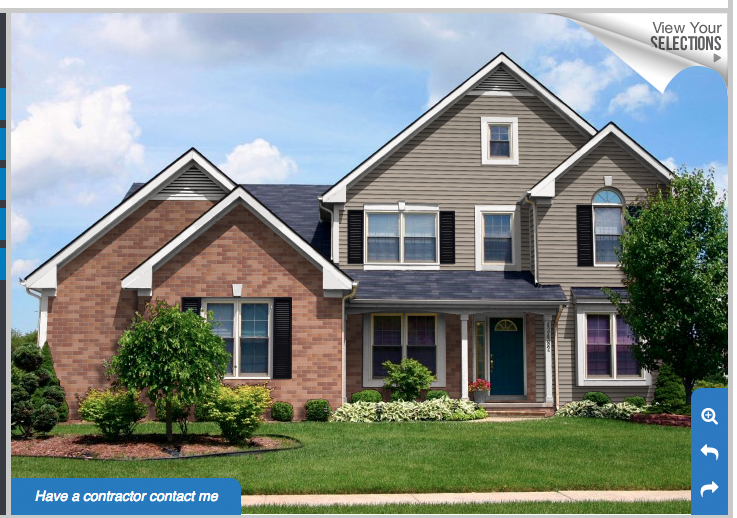 Natural Clay Siding Black Shutters House Siding House Exterior House Styles