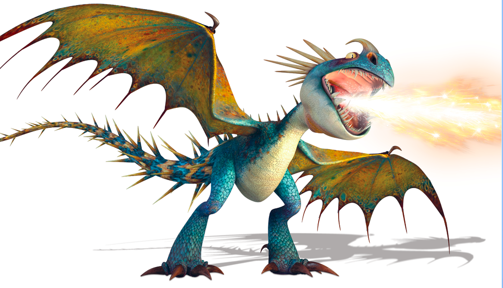 Stormfly The Deadly Nadder Breathing Fire How Train Your Dragon How To Train Your Dragon Dragons Riders Of Berk