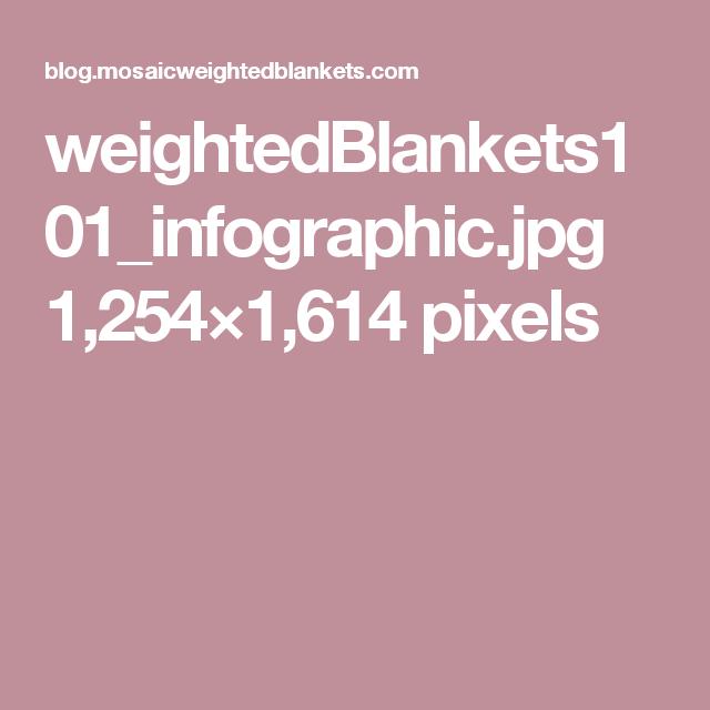 weightedBlankets101_infographic.jpg 1,254×1,614 pixels
