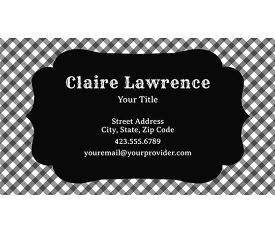 Download this checkered black white business card template and download this checkered black white business card template and other free printables from myscrapnook reheart Images