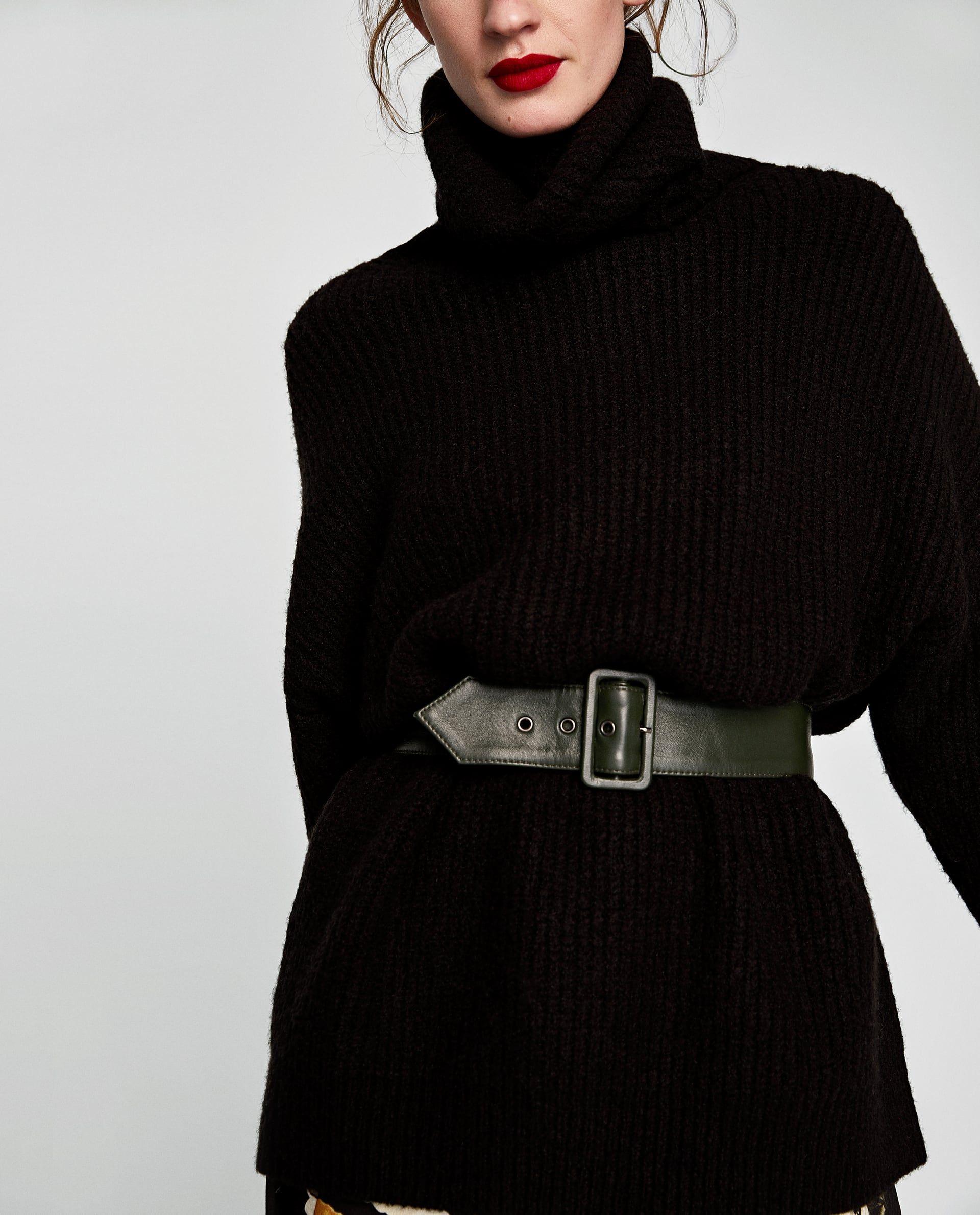 Größe 7 toller Rabatt für neues Design Zara Pullover Schwarz Damen