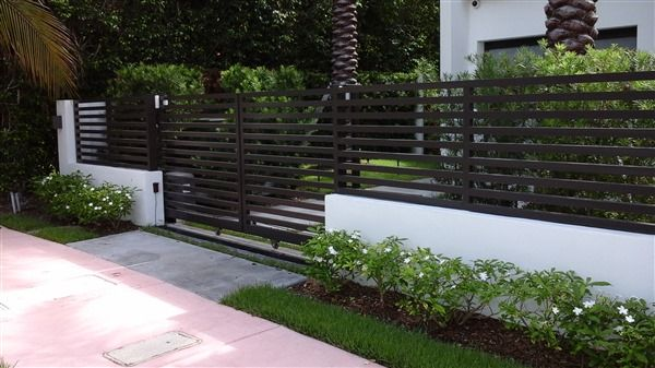 Painting Wrought Iron Fence