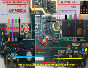 Huawei Y5 II Charging Solution Jumper Problem Ways   Huawei   Iphone repair  Iphone 6 backlight