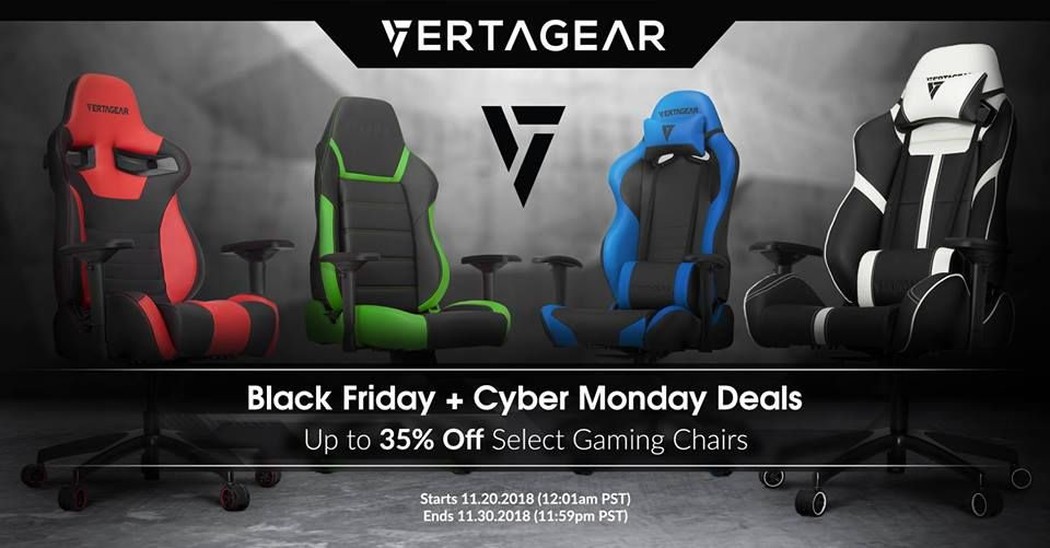 Phenomenal Vertagear Black Friday And Cyber Monday Deals 2019 In 2019 Short Links Chair Design For Home Short Linksinfo