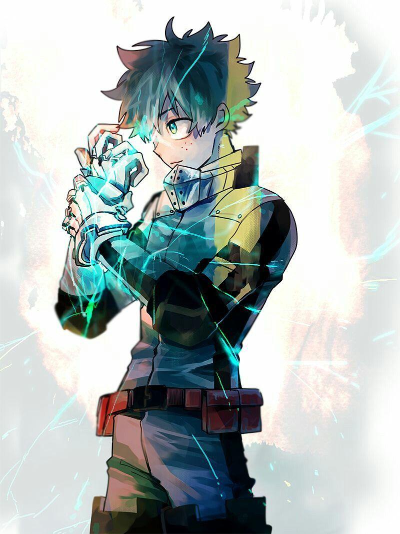 My Hero Academia // BNHA // Izuku Midoriya / Deku / Quirk