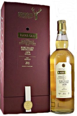 Port Ellen 1979 Rare Old Lot No Ro 14 01 Single Malt Whisky 46 70cldistilled In 1979 And Bottled 2014 Very Rare Lot No Ro 1 Scotch Whisky Whisky Single Malt
