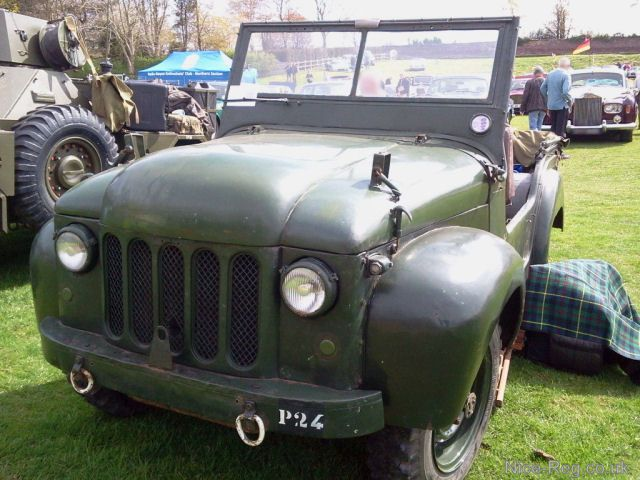 Registration Number: M6279624 on 1948 Wolseley Mudlark (Austin Champ Prototype) 1489cc