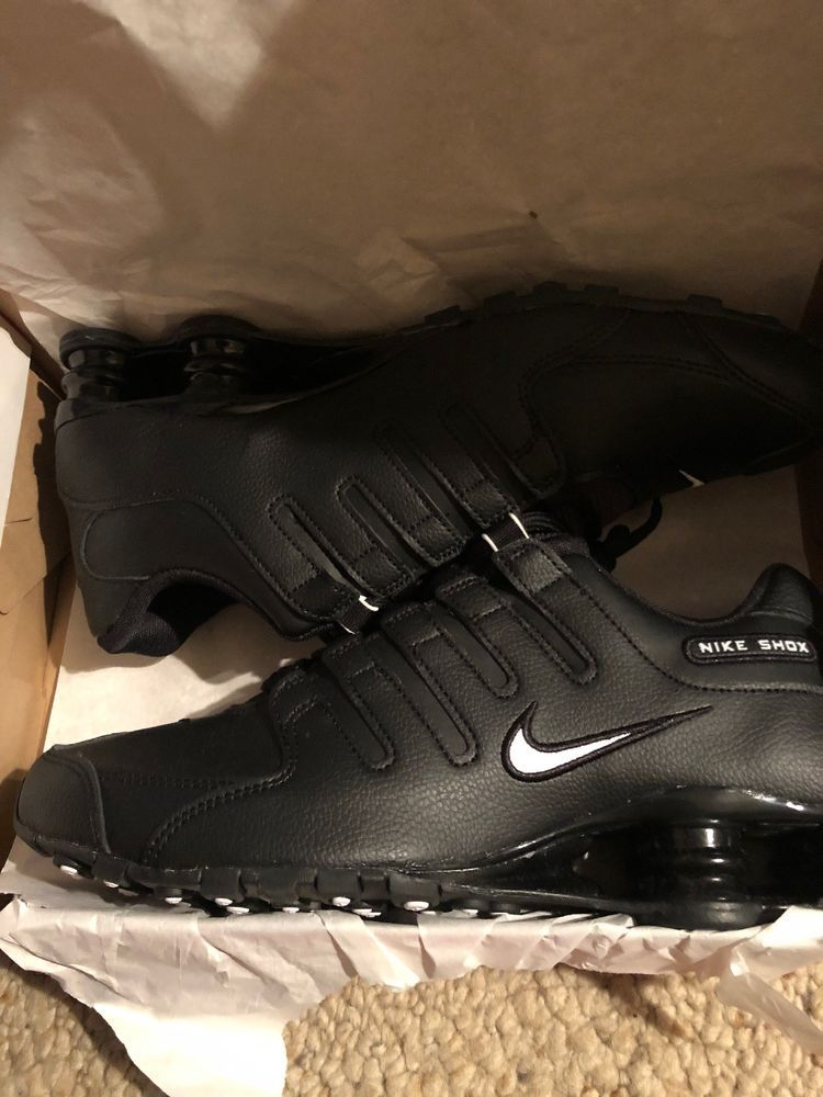 best website ad317 607cd New NIKE Shox NZ Premium Running Shoes Mens black/white ...