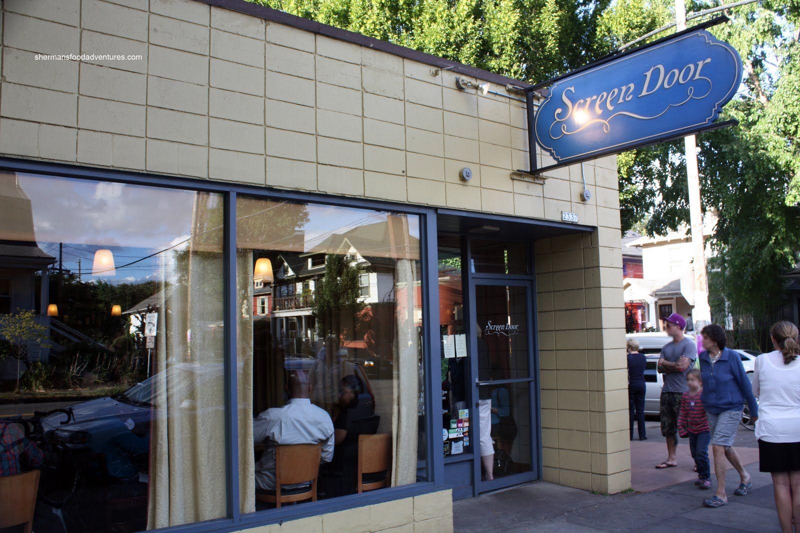 Screen Door Restaurant 2337 East Burnside Street Portland Oregon
