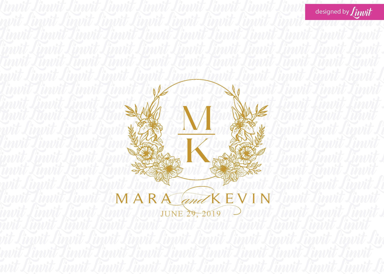 Wedding Logo Wedding Monogram Wedding Monogram Logo Luxury Etsy In 2020 Wedding Logo Monogram Wedding Logos Custom Wedding Monogram