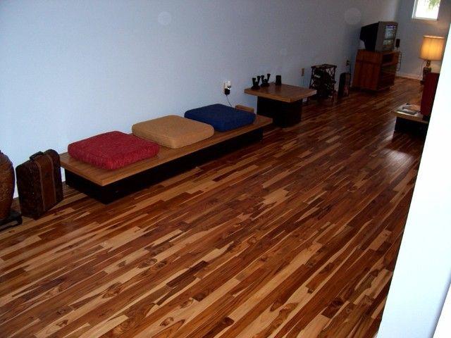 teak wood flooring teak flooringTeak Floors eclectic wood