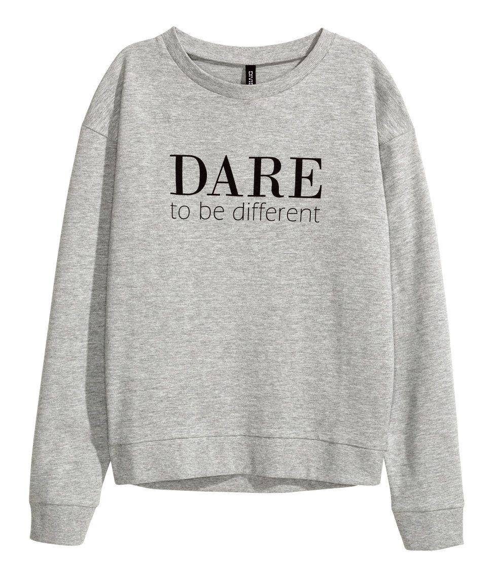 fd7e32b03860b Sweatshirt with Printed Design
