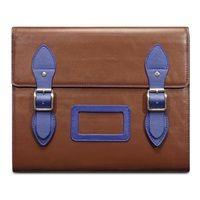 VARSITY Leather Satchel iPad Case in Brown by Covert  #dreamkidsbedrooms @cuckoolandcom