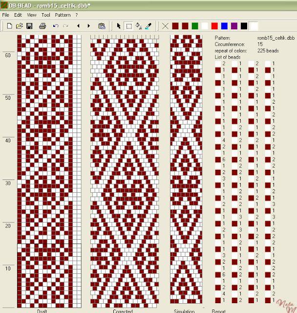 malena z 15 around bead crochet 13 15 pinterest h keln perlenketten h keln und. Black Bedroom Furniture Sets. Home Design Ideas