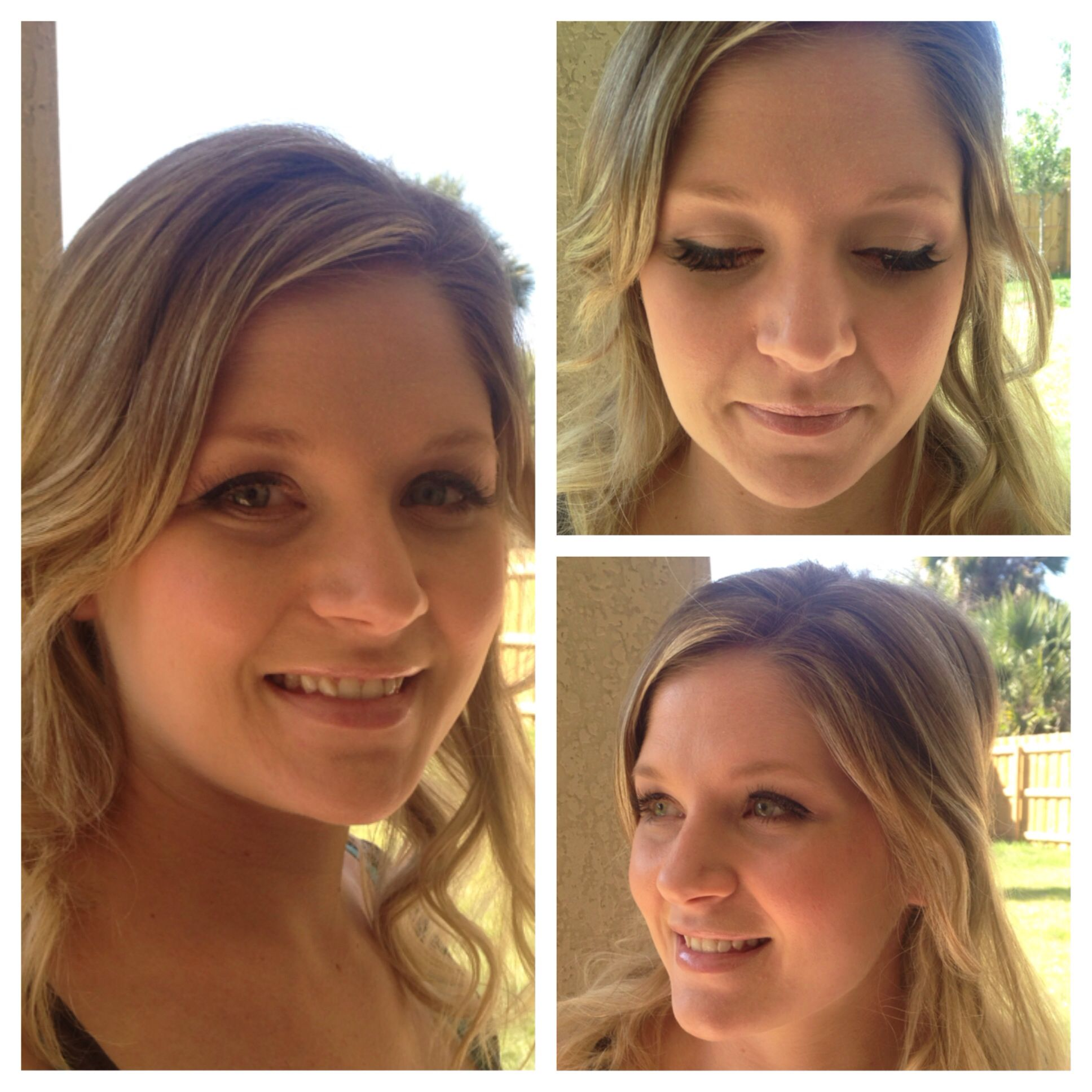 Team Bride Melbourne Beach FL Airbrush Makeup by Jordan