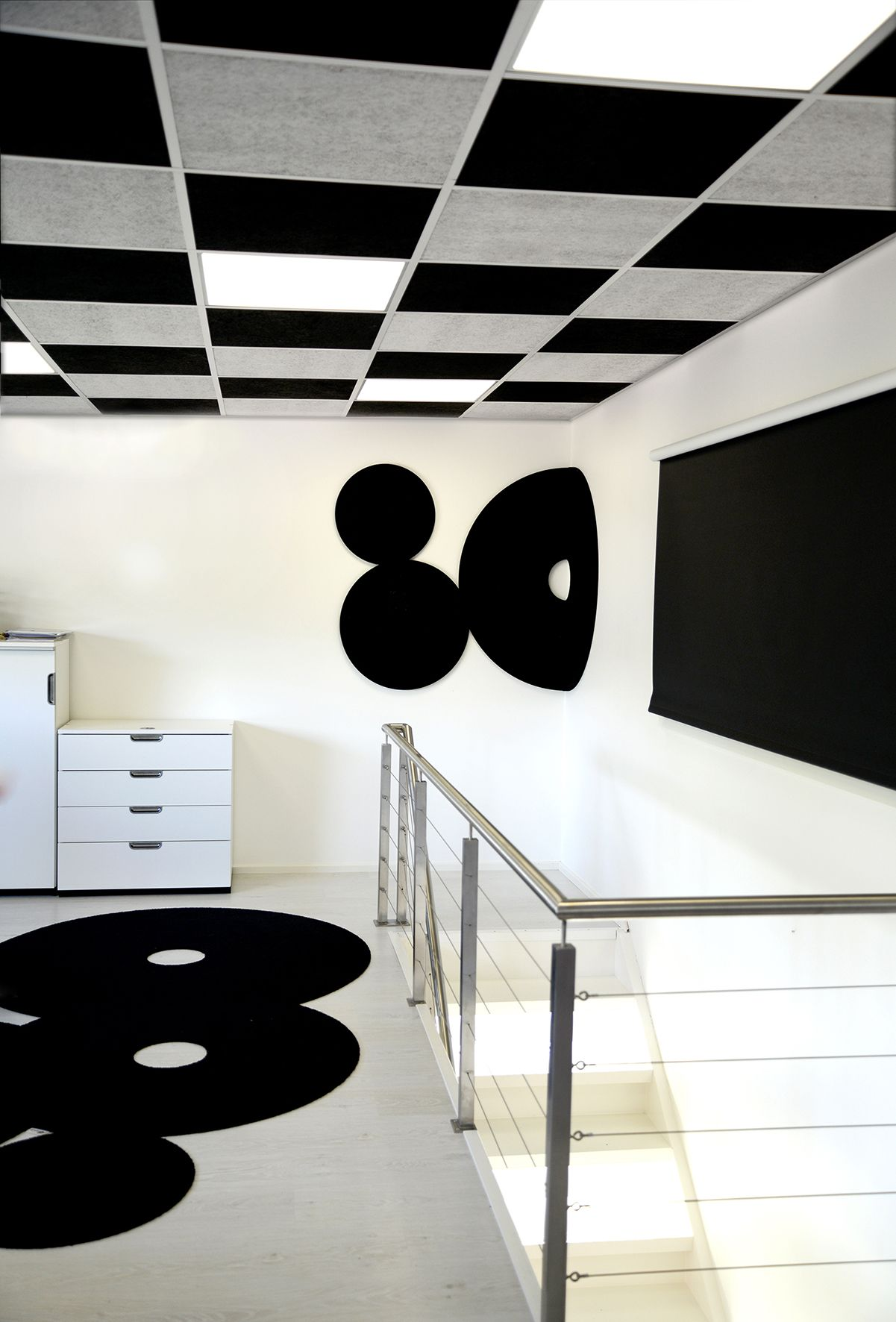 Ergonomiaa by AO-allover. Hyvinvointia tilaan kuin tilaan. Modernin ilmeen täydentäjänä mattojen uusi must - pOmpUp. AO-allover. #habitare2014 #design #sisustus #messut #helsinki #messukeskus