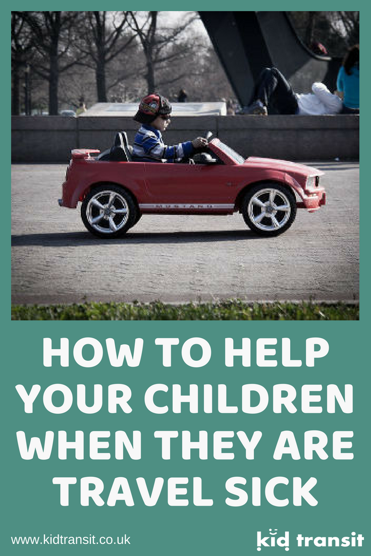 how to help your children when they are travel sick, motion sickness
