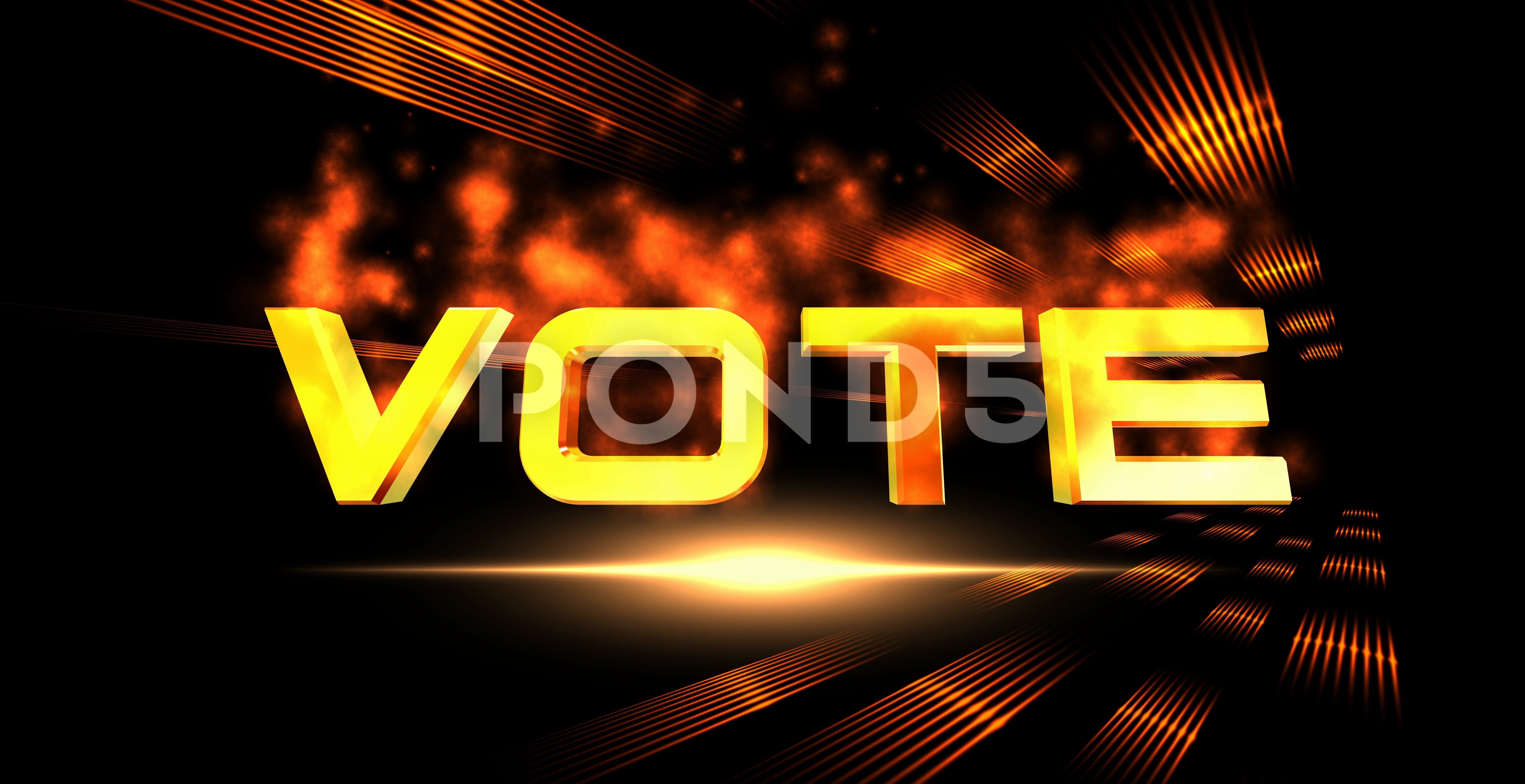 Background VOTE with Fire Effect  6K Ultra HD Stock Footage VOTEFireAbstractBackgroundAbstract Background VOTE with Fire Effect  6K Ultra HD Stock Footage VOTEFireAbstrac...