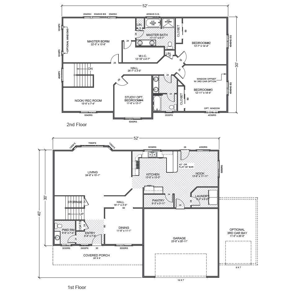 100 Accessory Dwelling Unit Floor Plans Backyard