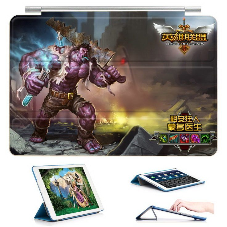 Case with League of Legends LOL game heroes illustration inch