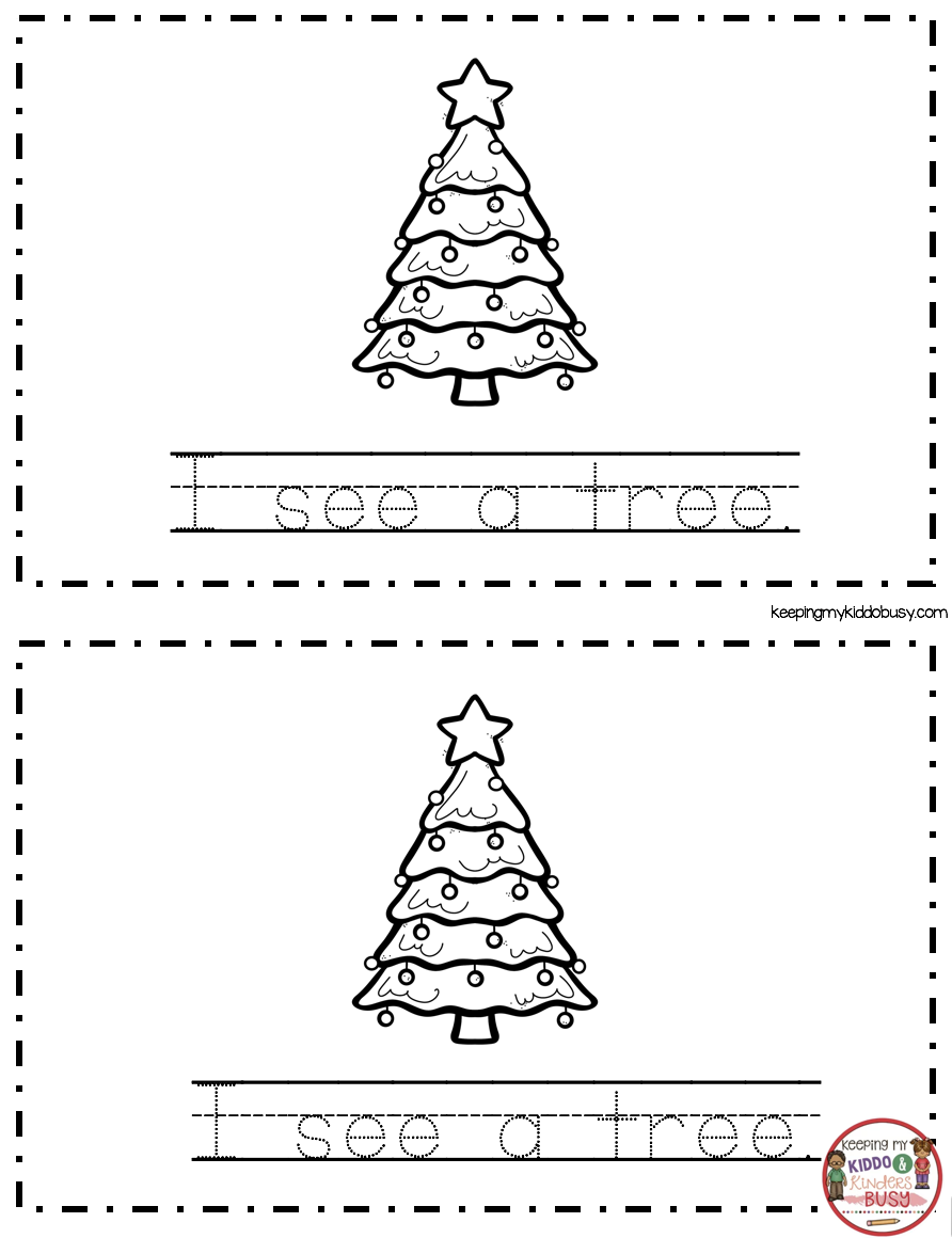 December Math And Literacy Pack Freebies Keeping My Kiddo Busy Christmas Kindergarten Holiday Worksheets Christmas Reading [ 1160 x 892 Pixel ]