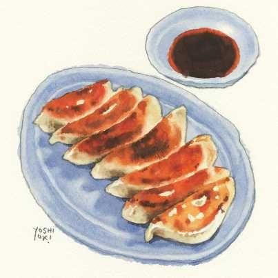 Watercolour pinterest difuminar comida for Servir comida