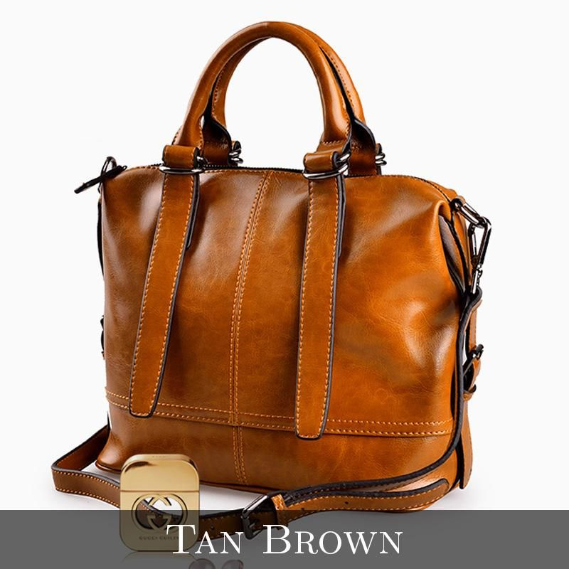 Lourdes Leather Bag