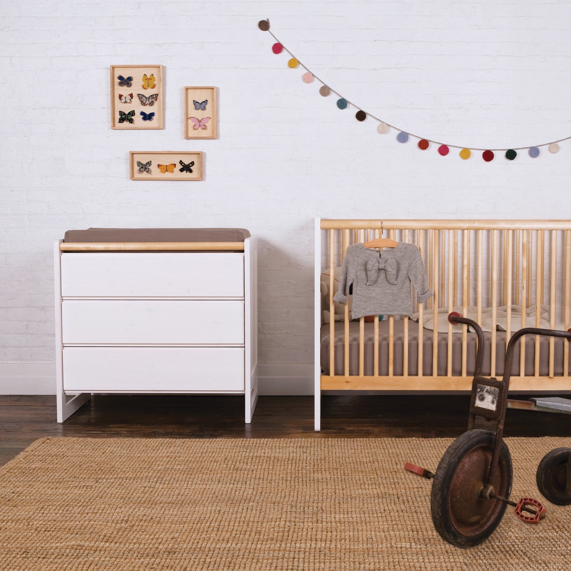 Nice Eco friendly Furniture for Safe Baby Nursery