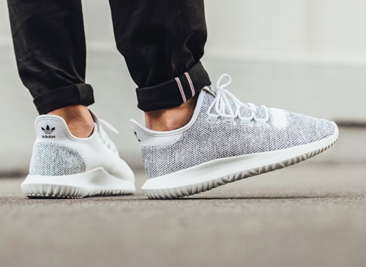 Adidas Tubular Shadow Knit (Core Black & Vintage White)