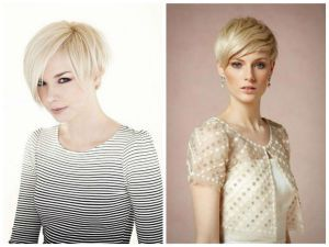 View picture Short Blonde Pixie Cut Long with resolution 1024 x 768 Pixel #11325417722 and discover more photos image gallery at Medium Hair Styles Ideas.