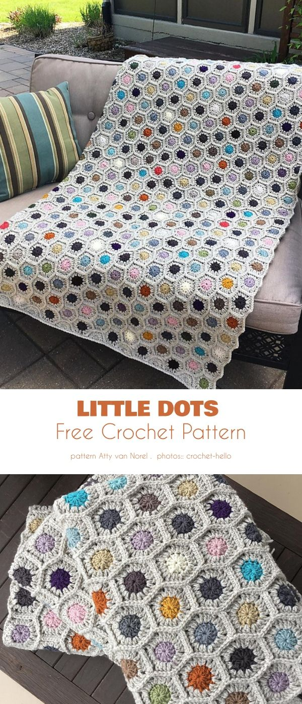 Colorful Spots, Free Crochet Patterns