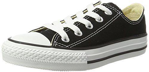 80f334b2b8df2 Converse Kids Unisex Chuck Taylor All Star Core Ox (Infant Toddler) Classic  Black Sneaker