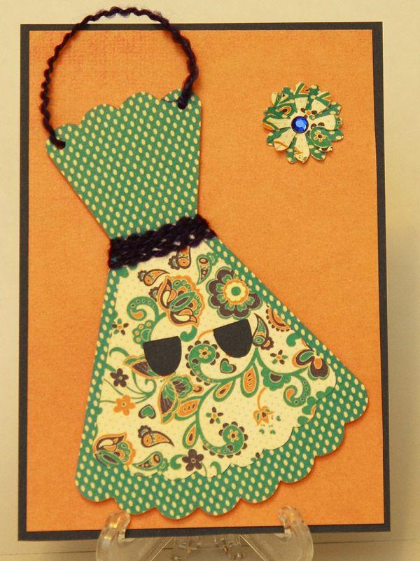 Открытка к 8 марта платье на открытке, день рождения