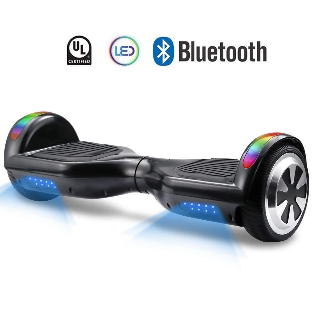 Hoverboard V800 Ul Certified Self Balancing Hover Board 6 5 Two Wheel Selfbalancing Scooter Speeds Of 9 6mpht Hoverboard Electric Scooter Bluetooth Hoverboard