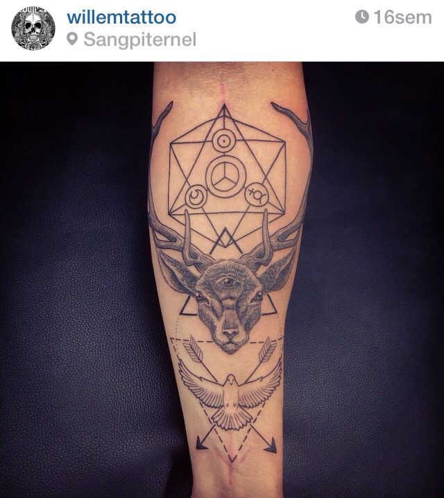 Tattoo by Willem, Sangpiternel tattoo, Cannes