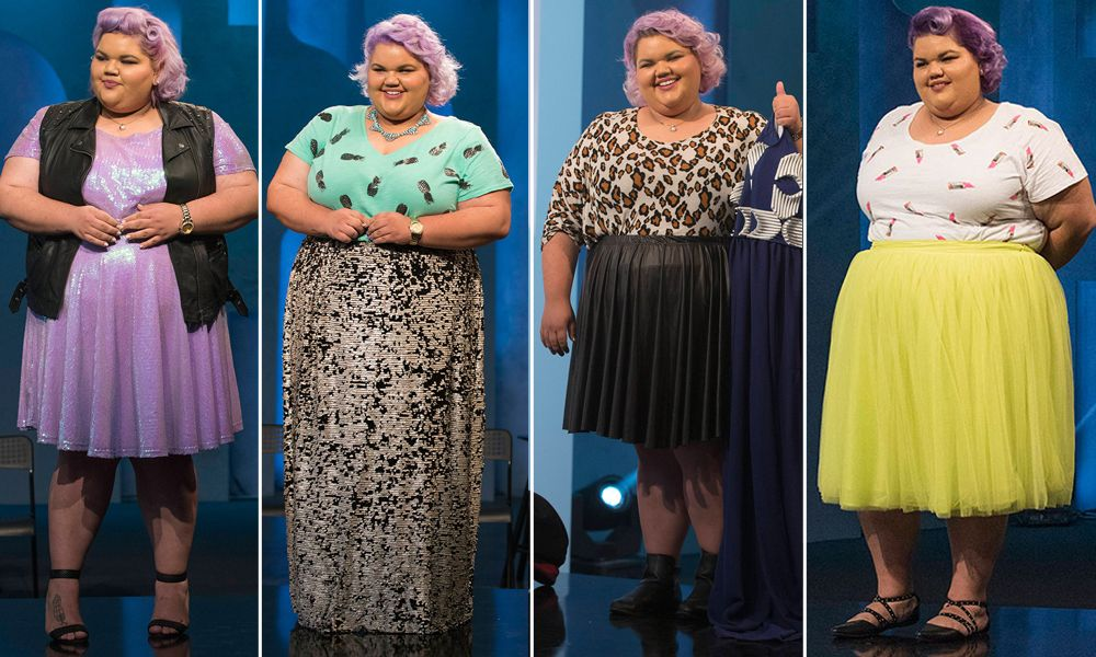 Our Top 5 Favorite Looks of The Season Worn by Project Runway Winner Ashley Nell Tipton