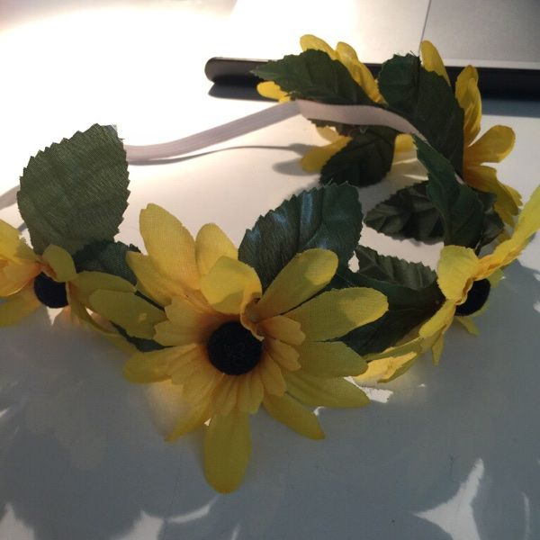 For Sale: Sunflower Crown/Headband for $10