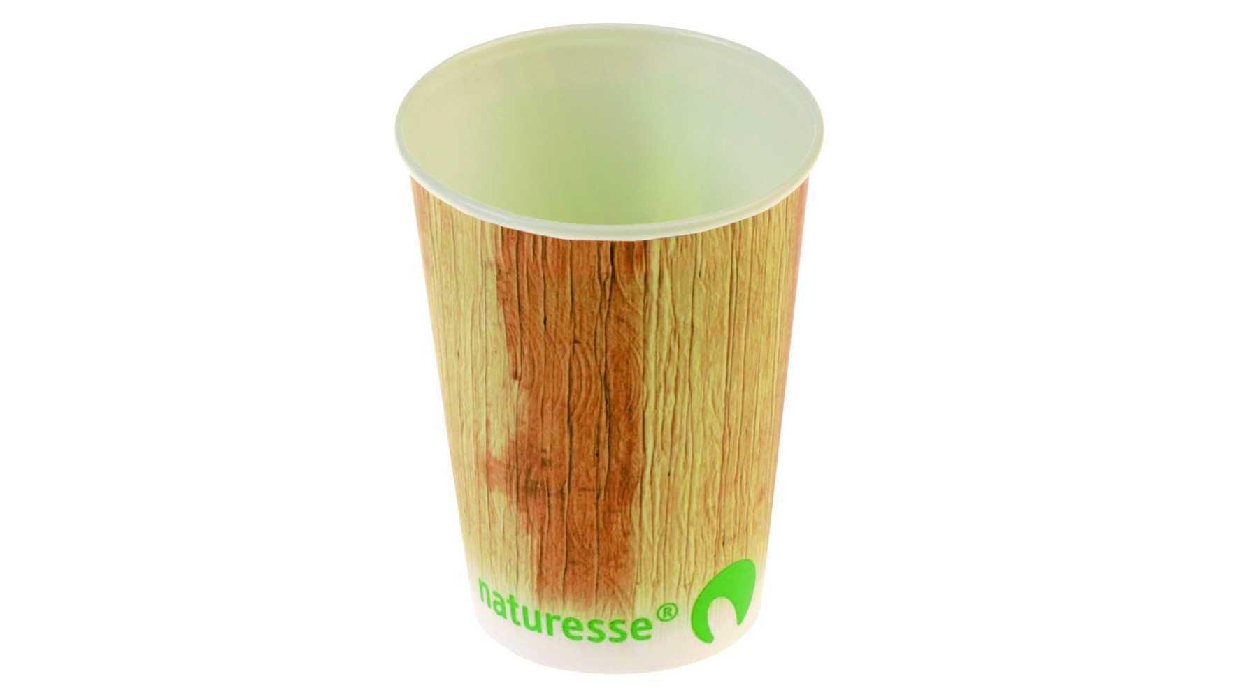 Naturessen luonnollisesti hajoavat kartonkiset kupit valmistetaan puhtaasta selluloosasta. Kuppien sisäpinta pinnoitetaan tärkkelyksellä, jotta ne kestäisivät nesteitä