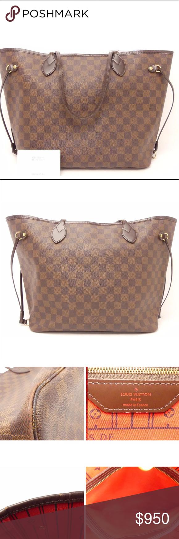 Sold Louis Vuitton Damier Neverful Mm Louis Vuitton Louis Vuitton Damier Louis Vuitton Bag