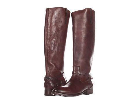 Frye Lindsay Plate Dark Brown Smooth Full Grain · Women's BootsFrye ...