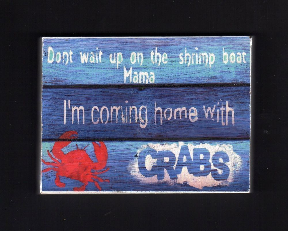 wall decor,crab sign,funny saying,sign,funny crab saying,beach signs ...