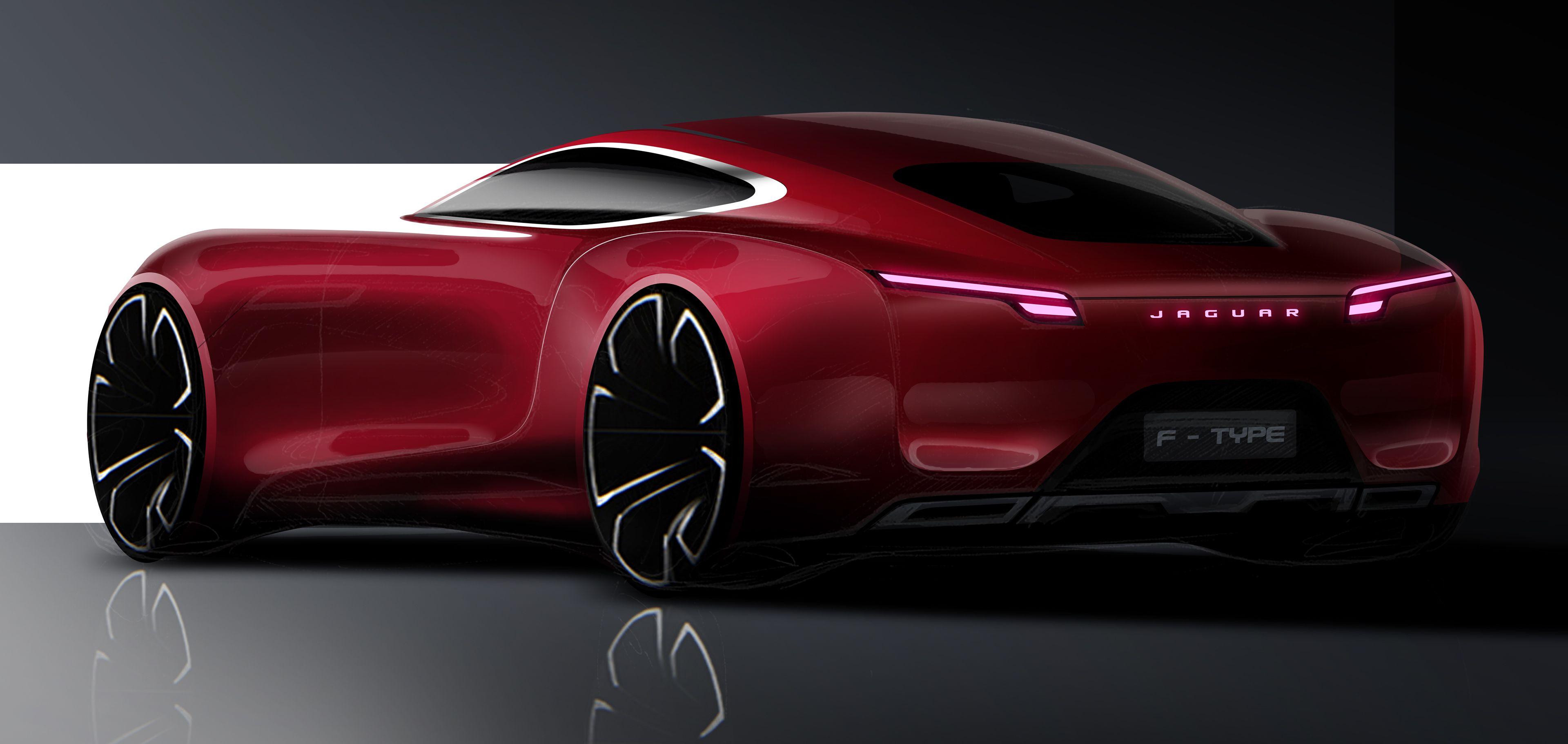 Jaguar concept on Behance (With images) Futuristic cars