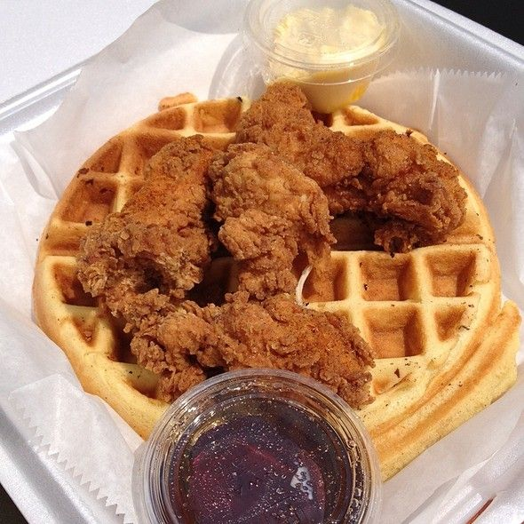Chicken Waffles Waffle Boss Food Truck Best Of Nashville