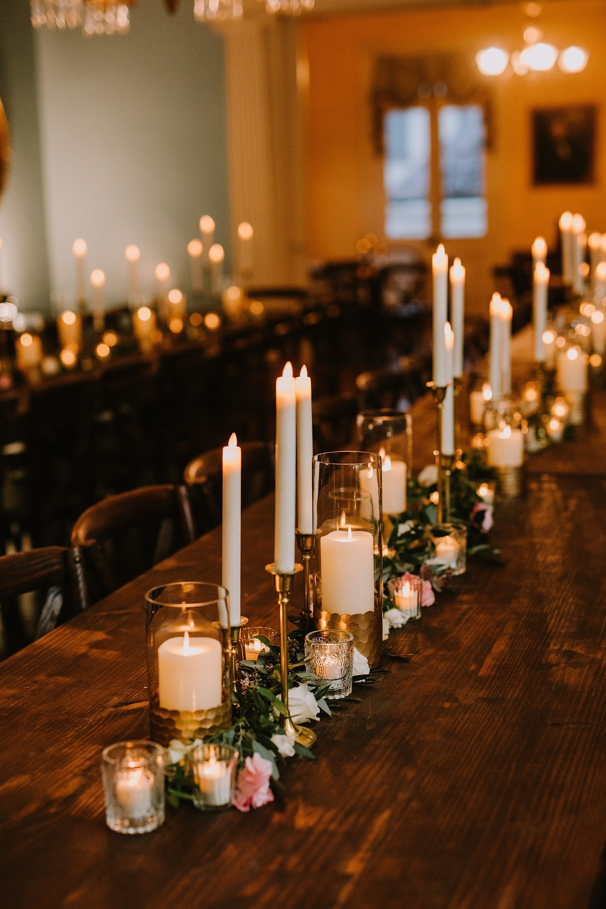 Paul Lisa Pharmacy Museum Beauregard Keyes House New Orleans Wedding Filled With Vintage Decor In 2020 Bistro Chairs Wedding New Orleans Wedding Candle Decor