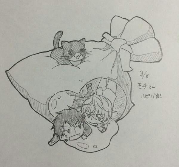 Sekaiichi hatsukoi Ken Kirishima x Takafumi Yokozawa