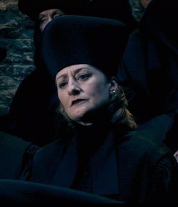 Amelia Bones, Hufflepuff - Head of the Department of Magical Law