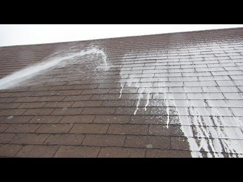 Cleaning A Roof With Oxygen Bleach Home Improvement