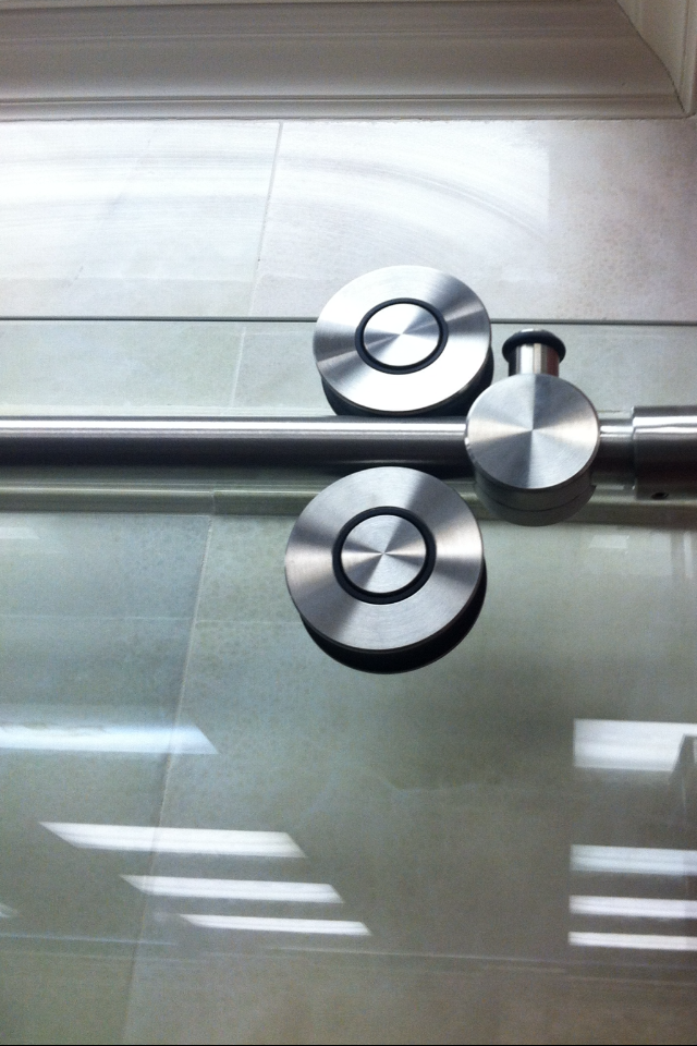 Shower Door Hardware- Rolling Wheels for Glass Sliding ...